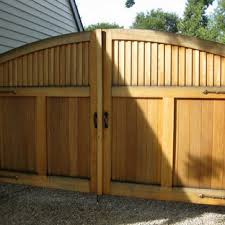 Double Wooden Gate Houzz