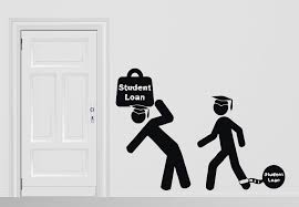 Vinyl Decal Wall Sticker Students Study Force Knowledge Student Loan U Wallstickers4you
