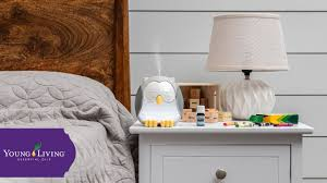 Feather The Owl Kids Ultrasonic Diffuser Young Living Essential Oils Youtube