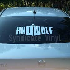 Doctor Who Rose Bad Wolf Whovian Vinyl Decal Etsy