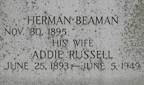 Addie Russell Beaman (1893-1949) - Find A Grave Memorial