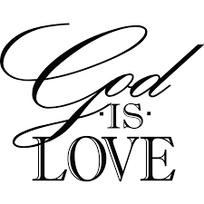god is love religious quote wall sticker decal world of wall