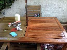 bringing teak outdoor furniture back