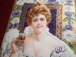 Coca Cola 1903 Hilda Clark Menu Card Found Inside Victorian ...