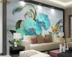 Beibehang مخصص صور خلفيات جدارية رسمت باليد فراشة بساتين الفاكهة