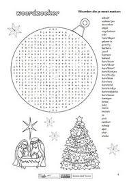 De 28 Beste Afbeeldingen Van Kerst Puzzels Kerst