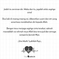 jodoh itu cerminan diri quotes writings by umi muthi