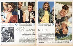 post wwii hairstyles beauty after the