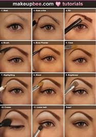 makeup brands with makeup step by step
