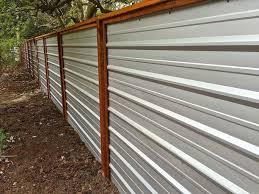 75 Easy Diy Privacy Fence Ideas Setyouroom Com Metal Fence Panels Diy Privacy Fence Cheap Privacy Fence