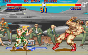 street fighter 2 action for dos