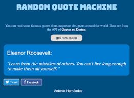 random quote machine