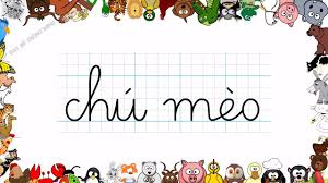 Bé học chữ   Em tập viết chữ cái Tuổi thơ, Chú mèo, Ngôi sao, Cây ...