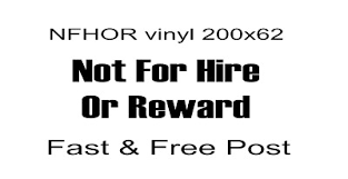 Not For Hire Or Reward Sticker Decal Vinyl X2 Pair Race Truck Horsebox Archives Statelegals Staradvertiser Com