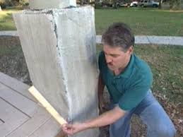How To Build Stone Pillars How Tos Diy