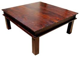 altamont transitional solid wood square