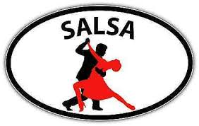Salsa Dancing Dance Latin Oval Car Bumper Window Sticker Decal 6 X4 Ebay