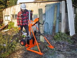 Post Puller Hydraulic Ground Drilling Equipment Fencing Garden Landscaping Maintenance