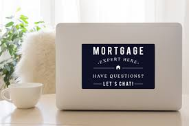 Mortgage Expert 8x5 Navy Decal All Things Real Estate