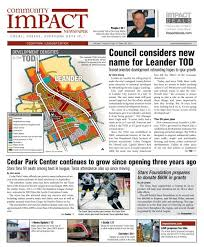 leander community impact newspaper