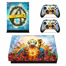 Game Borderlands 3 Skin Sticker Decal For Xbox One X Console And 2 Controllers For Xbox One X Skin Sticker Vinyl Stickers Aliexpress