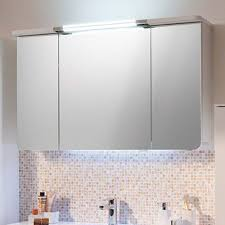 mirror cabinet with canopy light doors