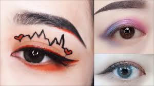 hot summer must match hot eye makeup
