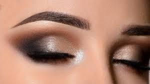 glam smokey eye new years eve makeup