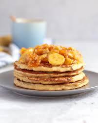 3 ings banana pancakes sugar