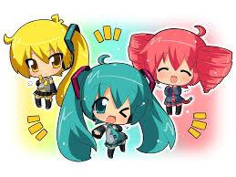 Hình Ảnh Anime Dễ Thương Chibi   Anime, Hatsune miku và Hình ảnh
