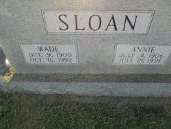 Annie Adeline Martin Sloan (1906-1991) - Find A Grave Memorial