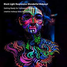 uv blacklight face paint escolite face