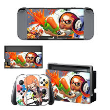 Game Splatoon 2 Skin Sticker For Nintendo Switch Nintendoswitch Ns Console Controller Vinyl Decals Skin Cover Accessories Consoleskins Co