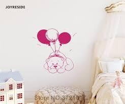 Panda Bear Wall Stickers Paddington Silhouette Teddy Decal Art Black Baby Koala Nursery Vamosrayos