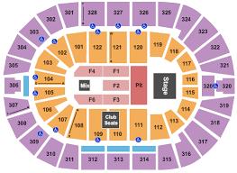 bok center seating chart maps tulsa