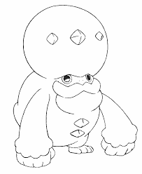 Kleurplaat Pokemon Sword And Shield Galarian Form Darmanitan
