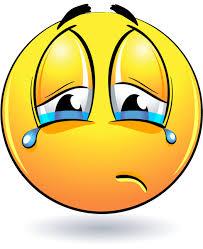 смайлик, грустный смайлик, слезы - cкачать бесплатно рендер ...
