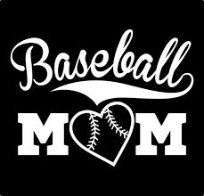 Baseball Mom Car Vinyl Decal Sticker Etsy