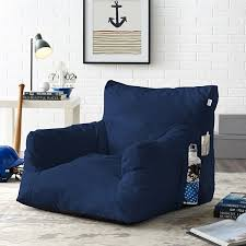 Buy Loungie Comfy Foam Lounge Chair Nylon Bean Bag Indoor Outdoor Self Expanding Water Resistant By Inspired Home On Dot Bo