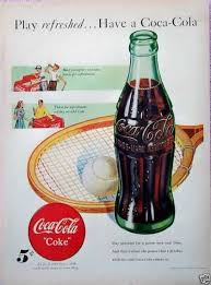 Coca Cola Refreshing Sailboats Wall Decal Vintage Style Coke