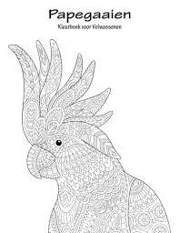 Amazon Com Papegaaien Kleurboek Voor Volwassenen 1 Volume 1