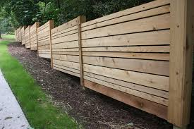 Alternate Size Planks Cedar Fence Fence Decor Wood Fence Design Fence Design