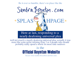 the official sandra boynton web site