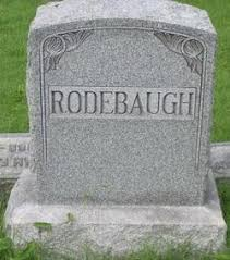 Mahala Adeline Bell Rodebaugh (1862-1926) - Find A Grave Memorial