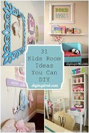 31 Kids Room Ideas You Can Diy Kids Bedroom Decor Kids Rooms Diy Kid Room Decor