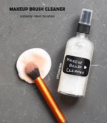 coconut oil instant makeup brush