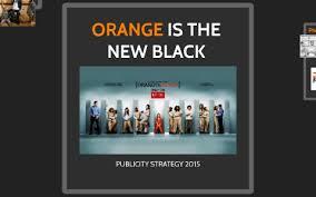 ORANGE IS THE NEW BLACK by Priscilla Ross