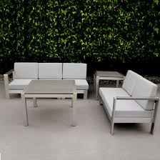 garden furniture poly wood aluminum