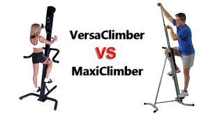 maxiclimber vs versaclimber