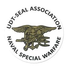 Inside Trident Association Round Decal Udt Seal Store